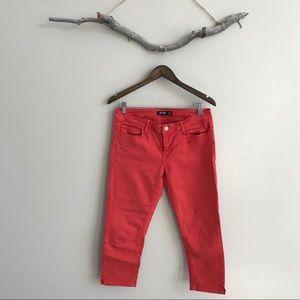 3/$20 Just Black Denim Coral Crop Jeans